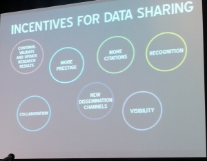 Incentives for data sharing