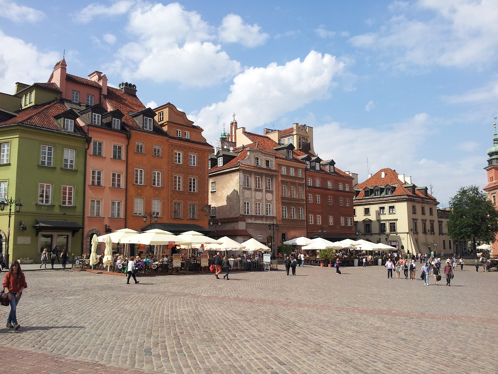 Warsaw's old district